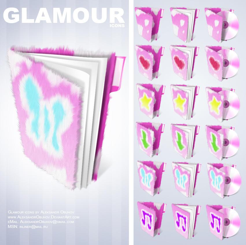 Glamour icons by AleksandrObuhov