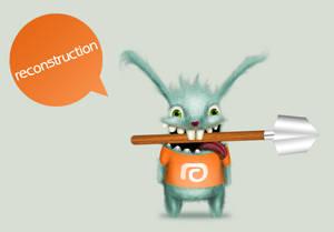 reconstruction bunny