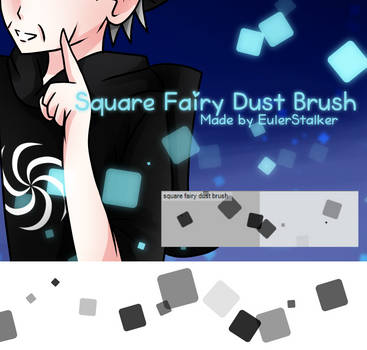 + Square Fairy Dust Brush | For MS5/CSP + by SerketXXI