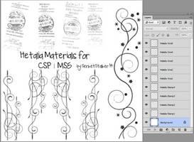 + Hetalia Materials | For CSP/MS5 + by SerketXXI