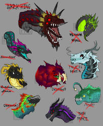 dark dragon adopts [CLOSED] by RY0ASUKA