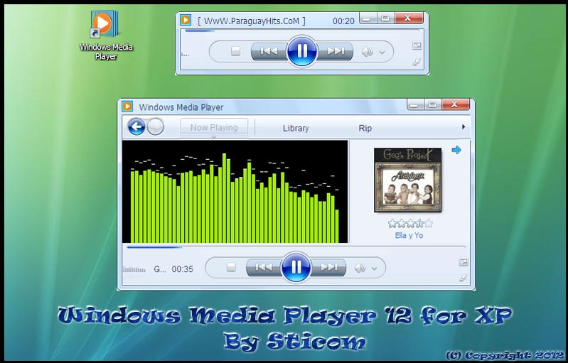 how to change album art in windows media player 12