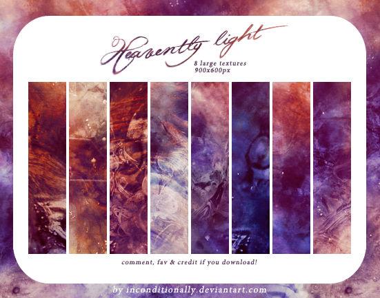 heavently light: textures set