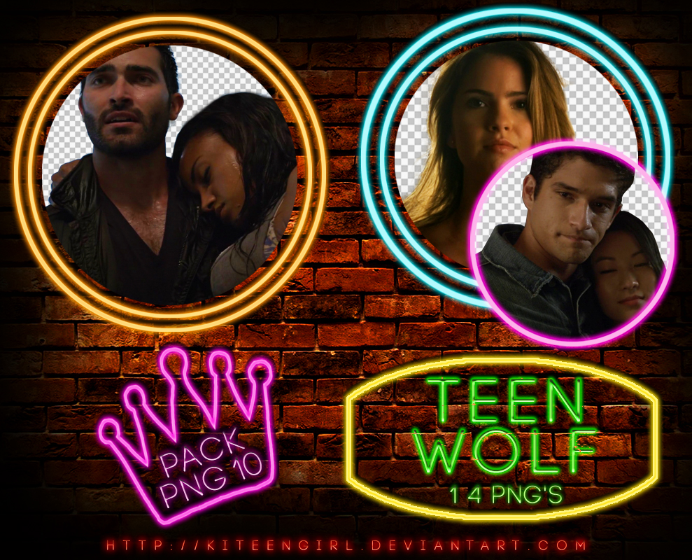 Teen Wolf - PACK PNG 10 by Kiteengirl