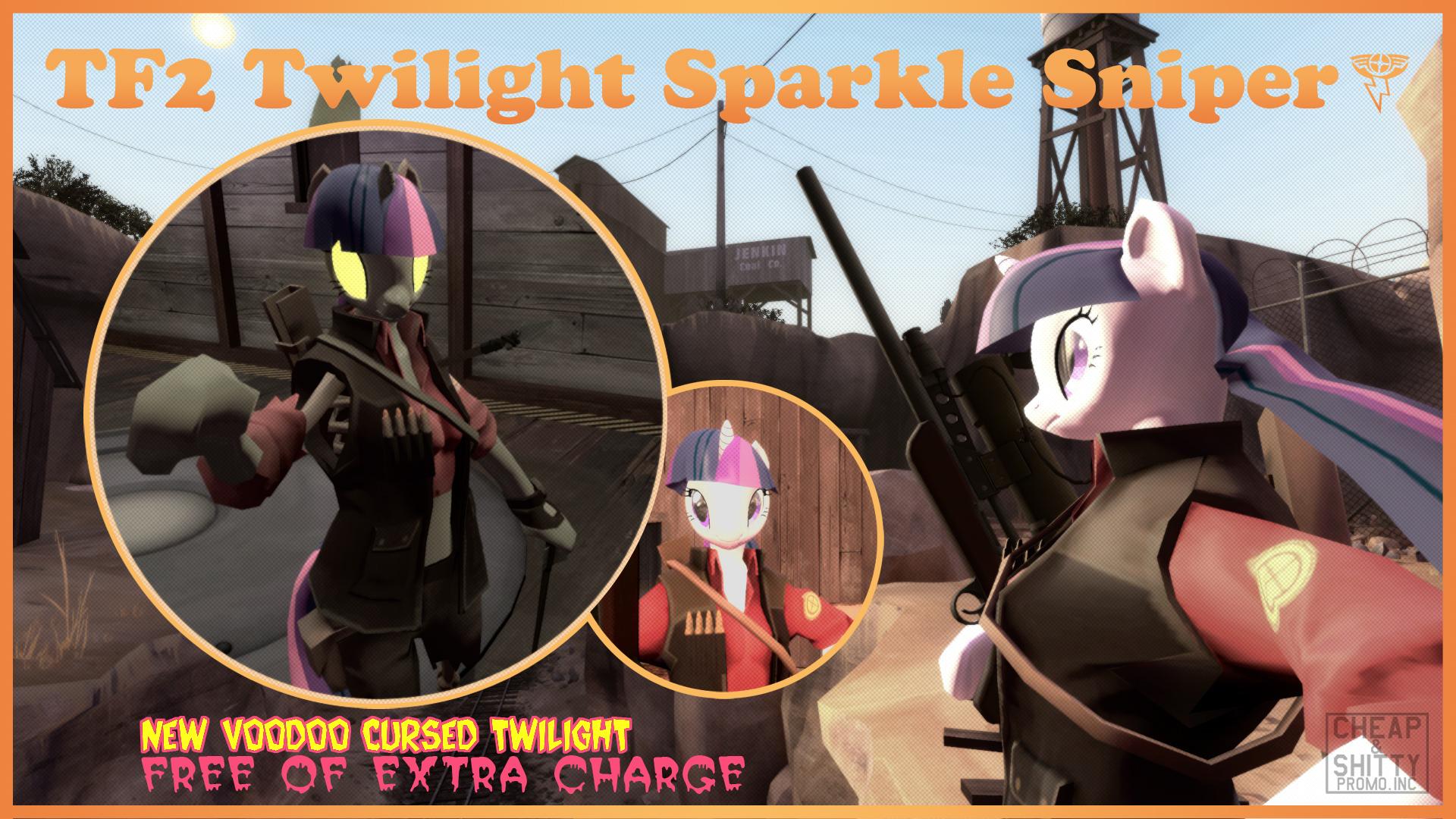 TF2 Twilight Sparkle Sniper by LightningDart on DeviantArt