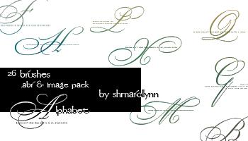 Alphabet by shmarollynn