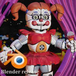 Circus Baby V7 Blender download.