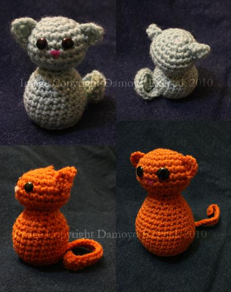 Teeny Cat Free Crochet Pattern By Damoyoexectak On Deviantart