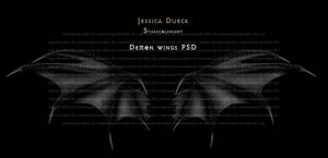 Demon wings I PSD