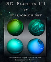 3D Colorfull planets by StarsColdNight