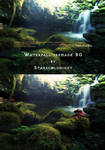 waterfal 2 premade BG  by starscoldnight