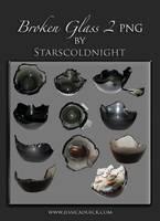 Broken glass II png by starscoldnight by StarsColdNight