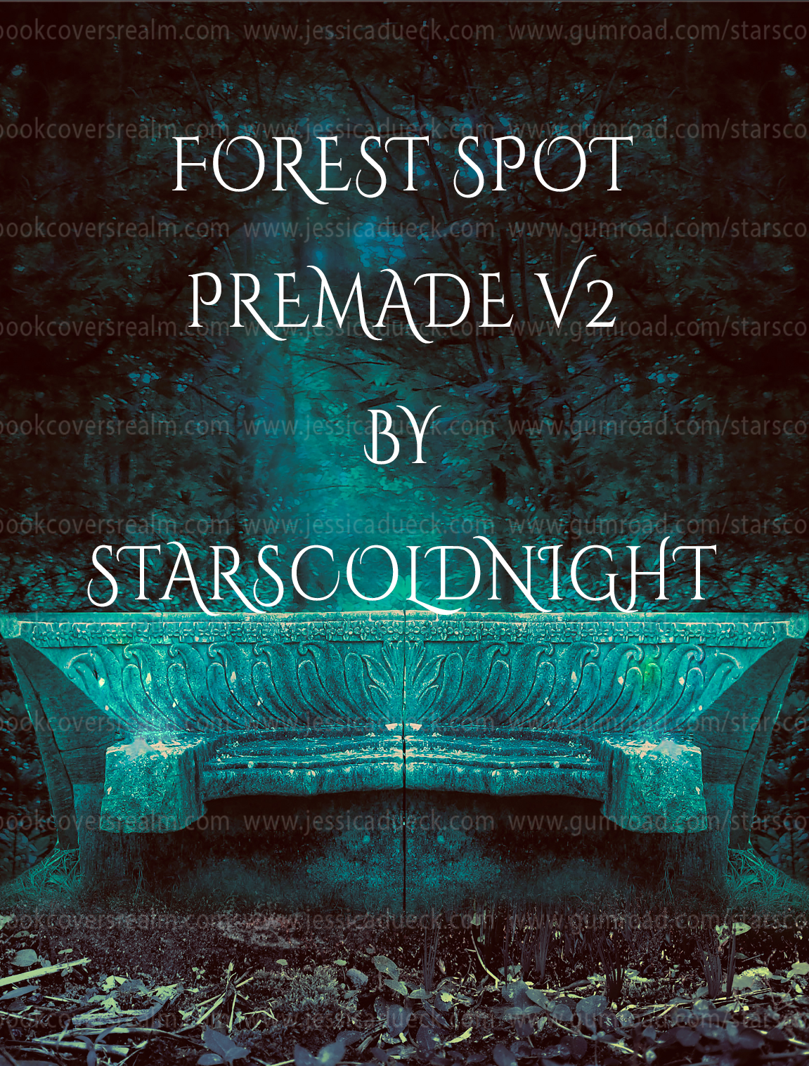 Forest spot premade v2 by starscoldnight