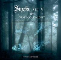 smoke set V by starscoldnight by StarsColdNight