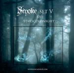 smoke set V by starscoldnight