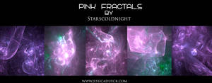 pink fractal by starscoldnight by StarsColdNight