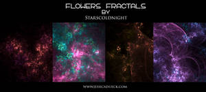Flowers fractal by starscoldnight