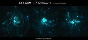 Random fractals II by Starscoldnight by StarsColdNight