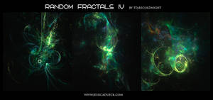Random fractals IV by Starscoldnight by StarsColdNight