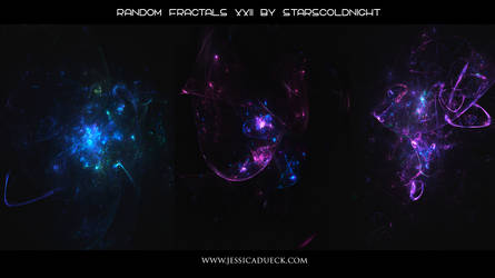 Random fractals XXII