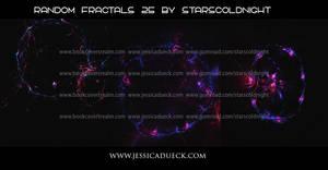 Random fractals 25 by Starscoldnight