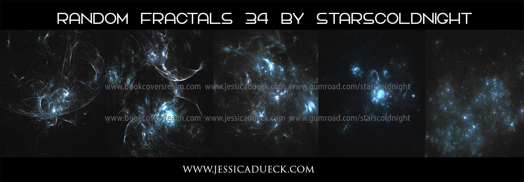 Random fractals 34 by Starscoldnight