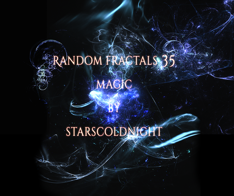 Random fractals 35 by Starscoldnight