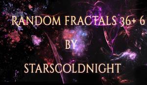 Random fractals 36 by Starscoldnight