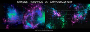 Rainbow fractal 37 by starscoldnight