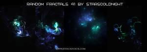 Random Fractals 41 By Starscoldnight