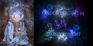 Random fractals 44 by Starscoldnight