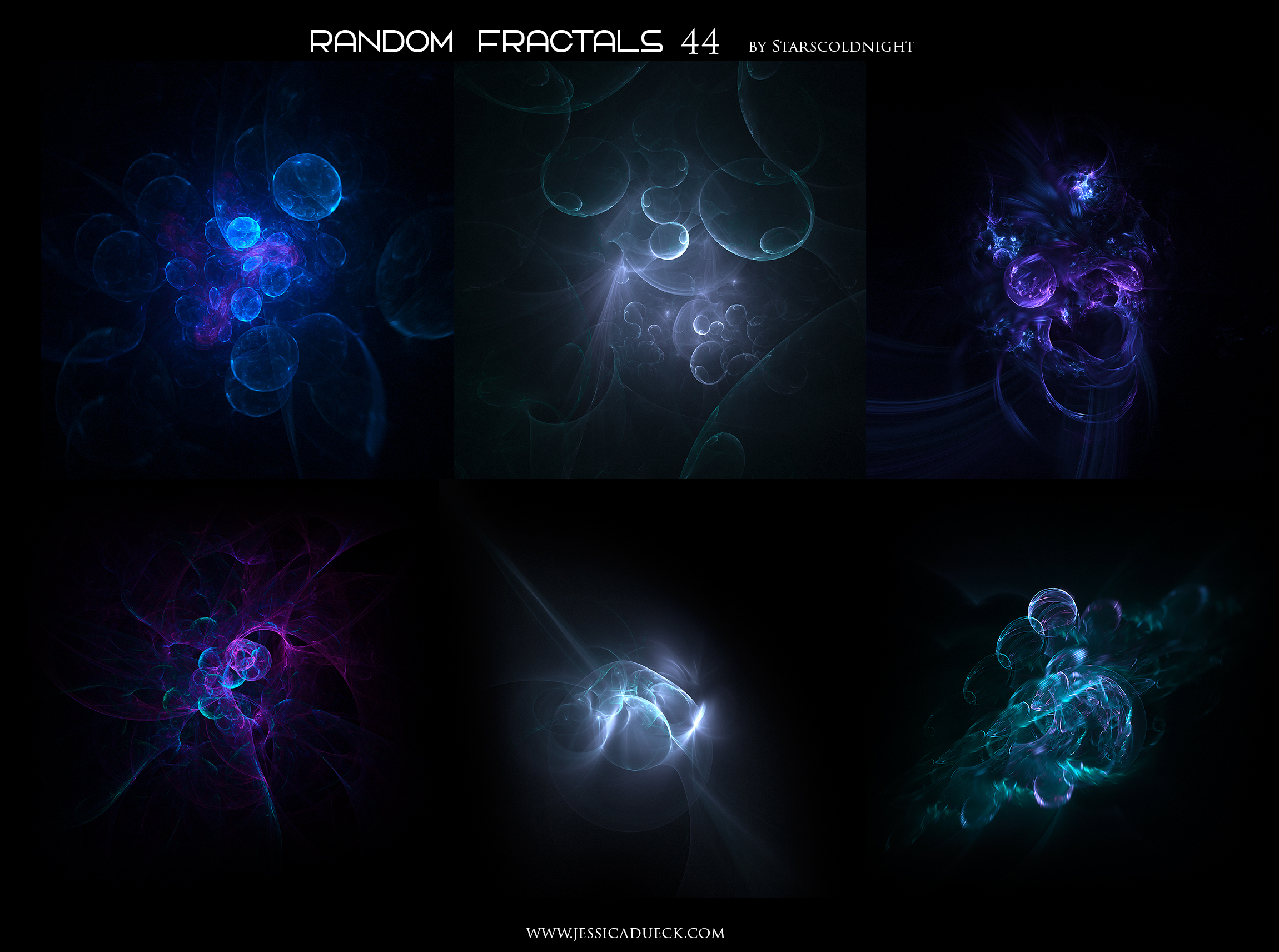 Random fractals 44 by Starscoldnight by StarsColdNight