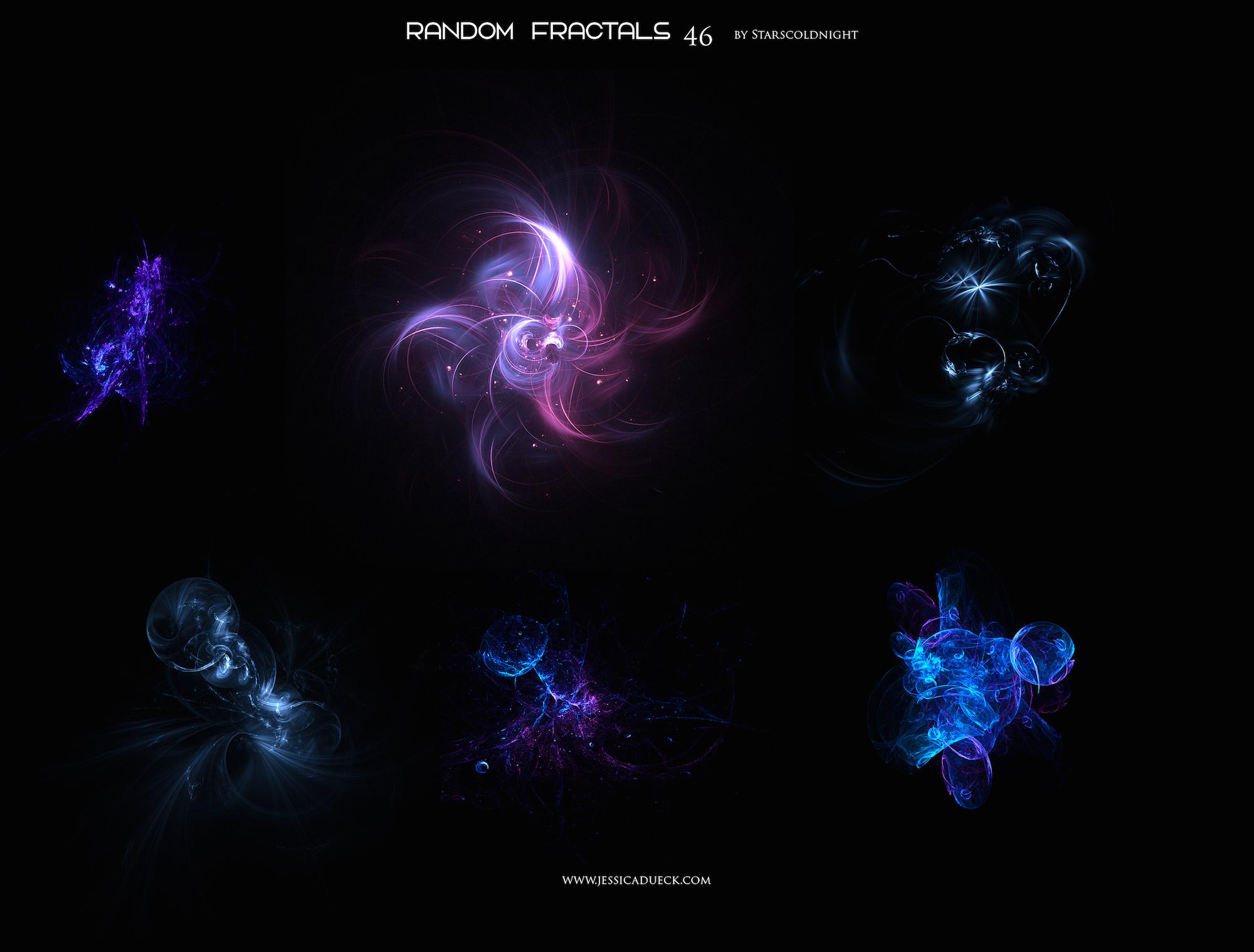 Random fractals 46 by Starscoldnight by StarsColdNight