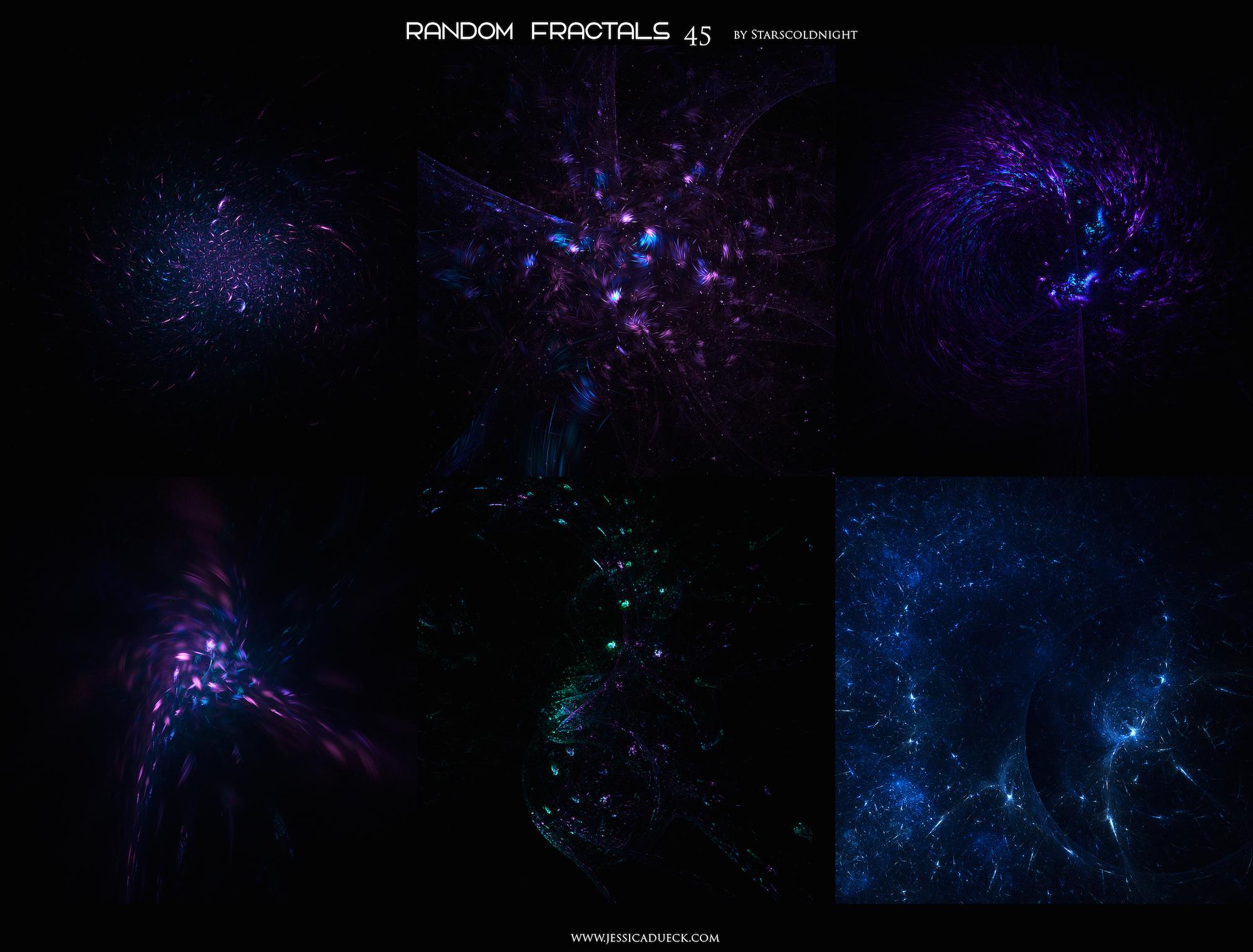 Random fractals 45 by Starscoldnight by StarsColdNight