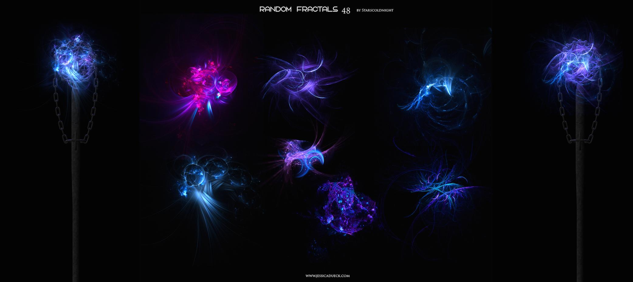 Random fractals 48 by Starscoldnight by StarsColdNight