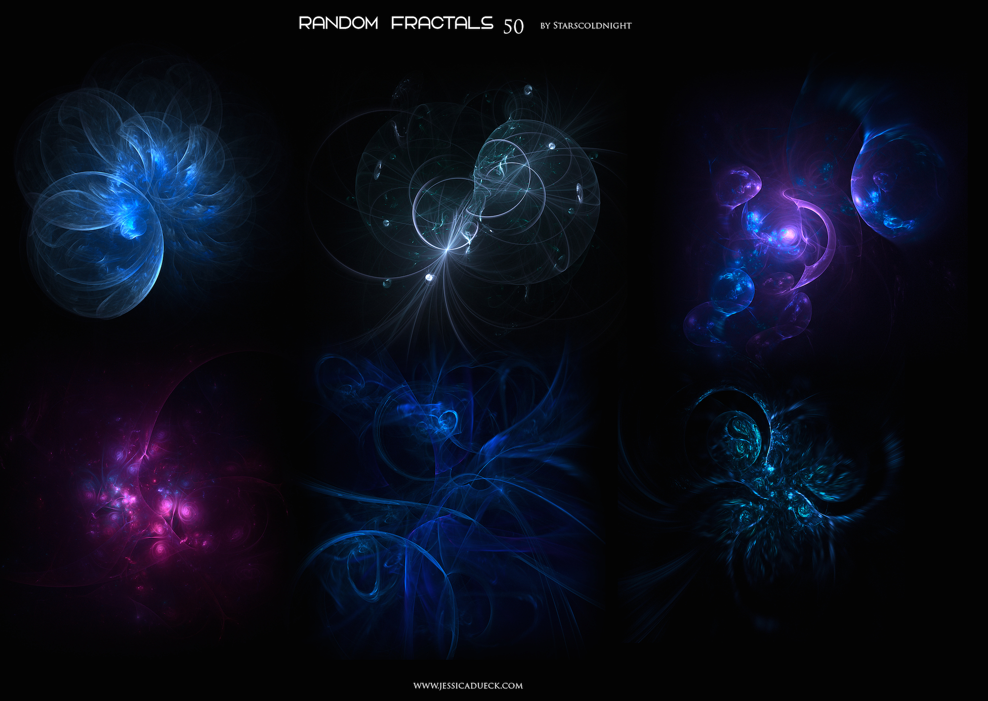 Random fractals 50 by Starscoldnight by StarsColdNight