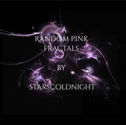 Random pink fractals by starscoldnight