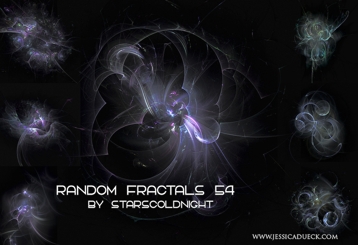 Random fractals 54 stocks by starscoldnight by StarsColdNight