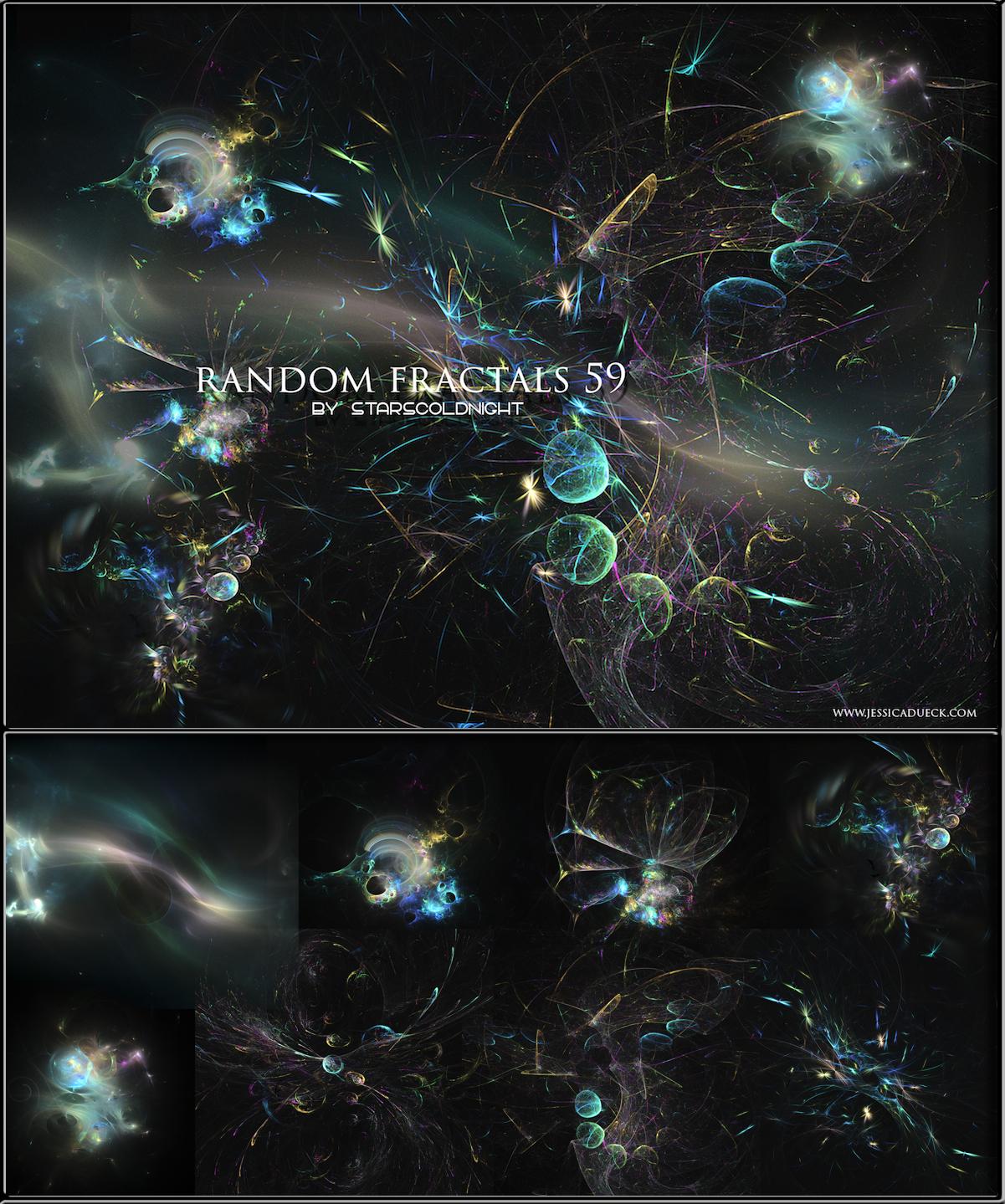 Random Fractals 59 By Starscoldnight by StarsColdNight