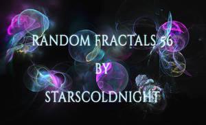 Random Fractals 56 By Starscoldnight