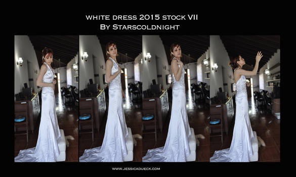 White Dress 2015 Stock 7 By Starscoldnight