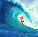Surfing - Animated Version by TimTaller