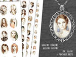 Freebies - Vintage Ladies, portraits vintage by MoonlightCreationsFr