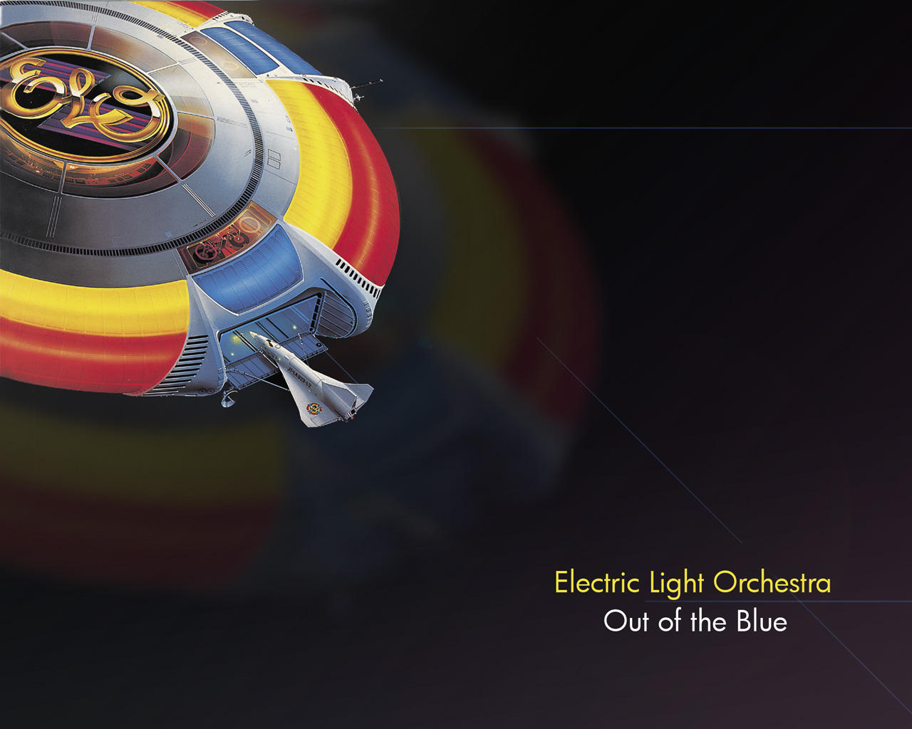 ELO- Out of the Blue Wallpaper by Kotori-