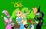 The Wizard of Oz Poster (Colored)
