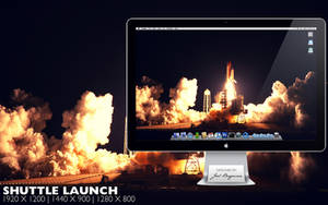 Shuttle Launch by RurouniVash