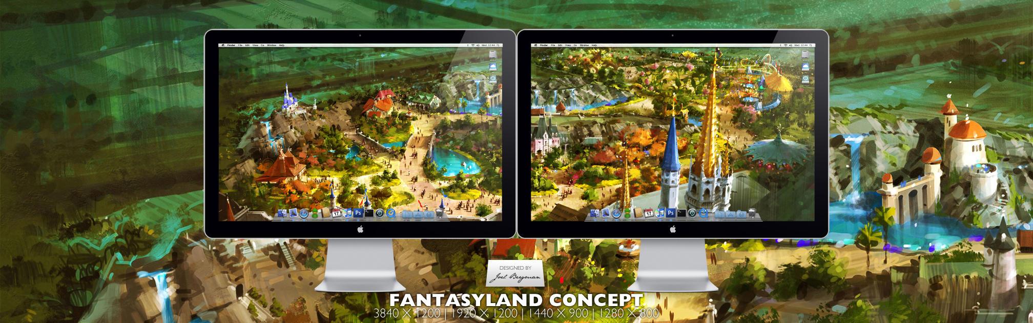 Fantasyland Concept by RurouniVash