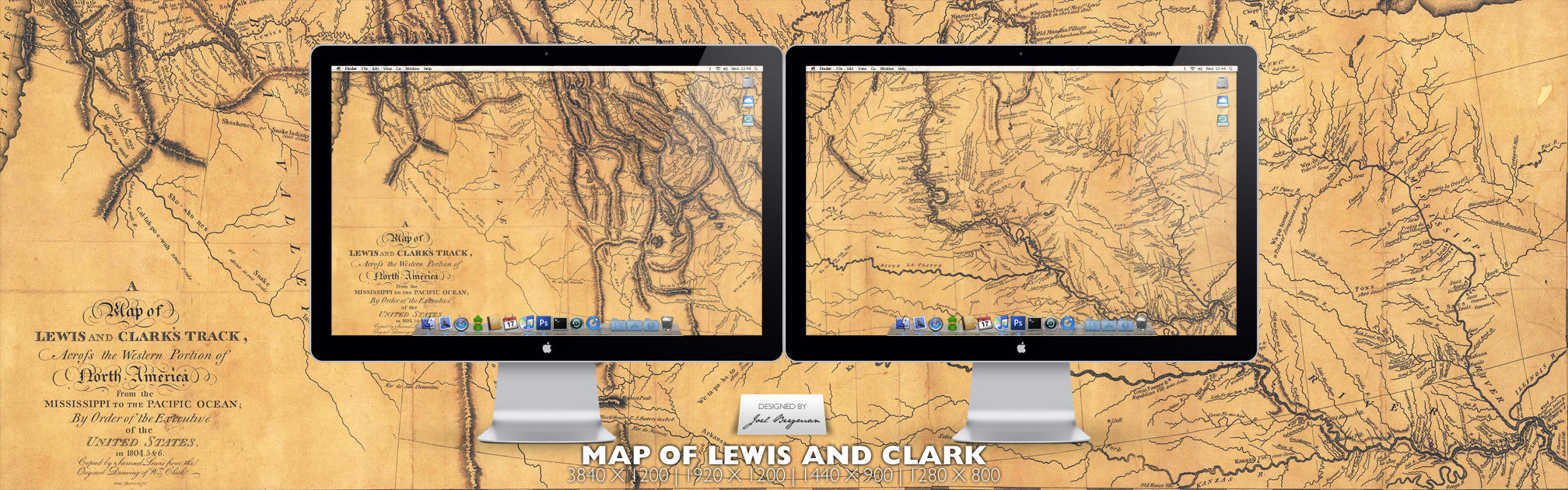 Map of Lewis and Clark by RurouniVash