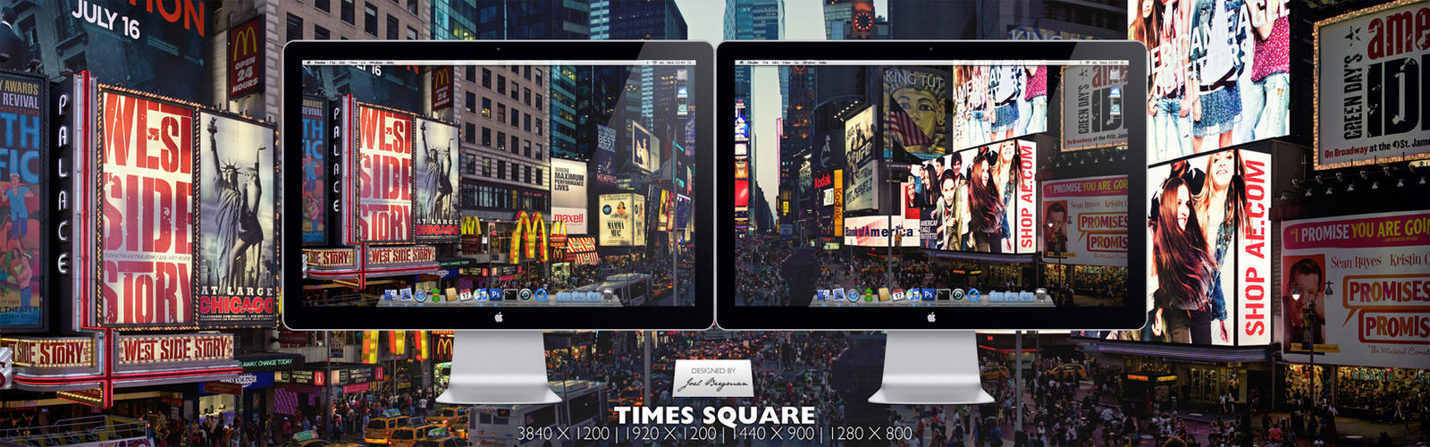 Times Square by RurouniVash