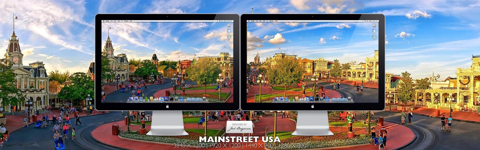 Mainstreet USA by RurouniVash